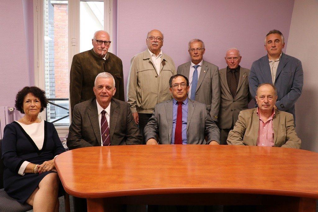 Photo des membres du comité